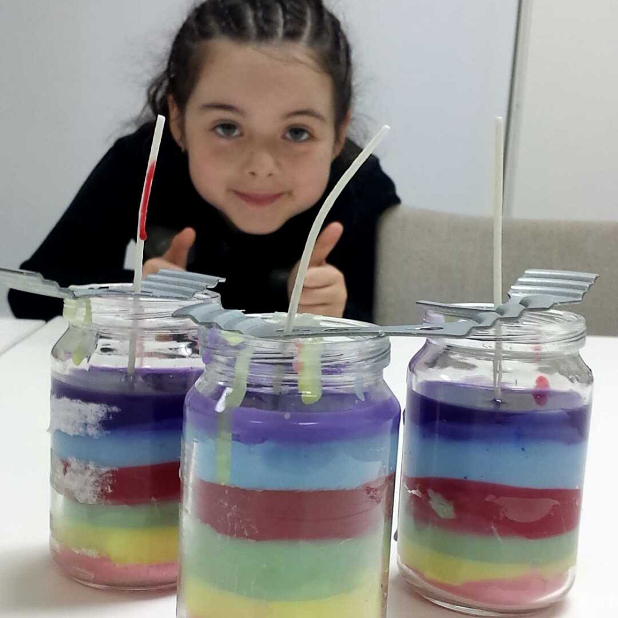 Tookii things to do with kids making candles one of the activities for kids