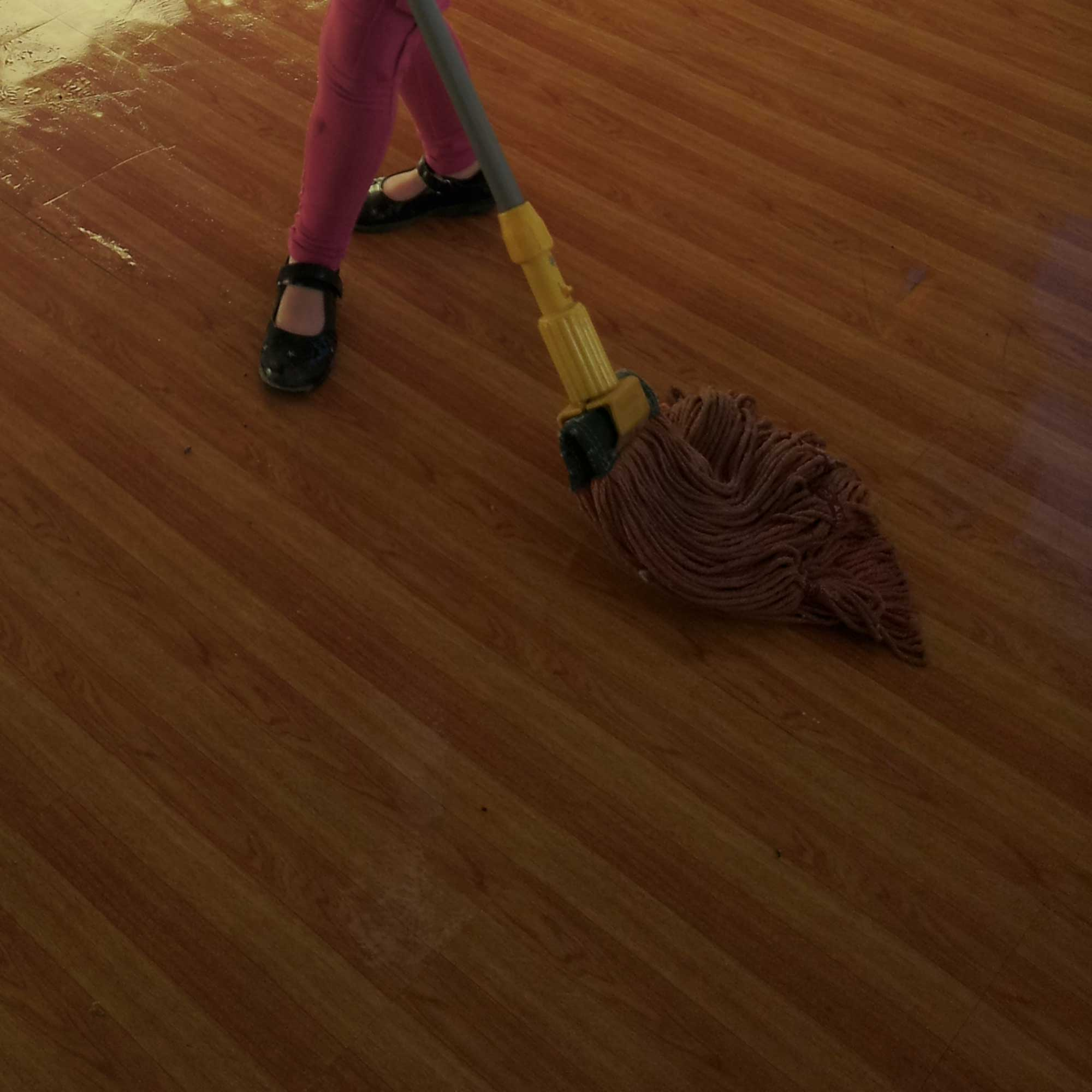 Tookii things to do with kids mopping the floor one of the activities for kids