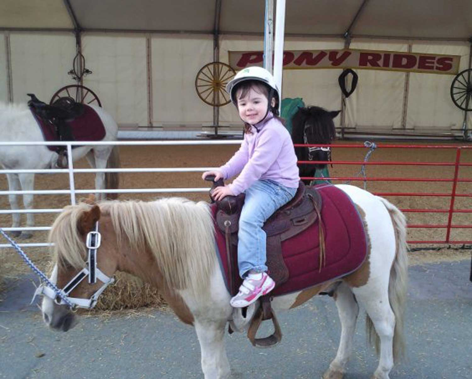 Tookii things to do with kids first pony ride one of the outdoor activities for kids