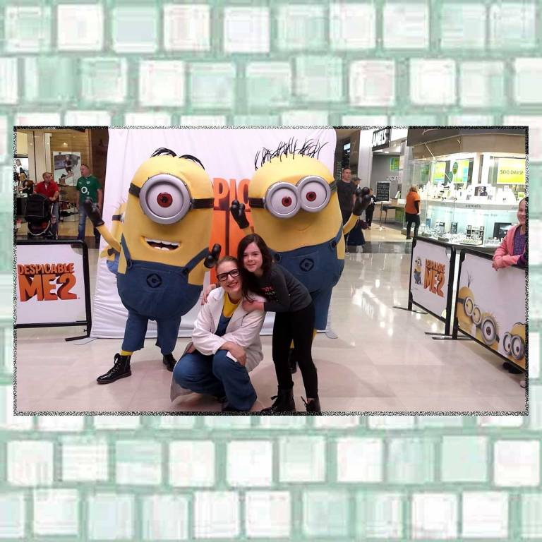 Tookii with minions