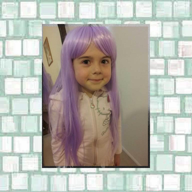 Tookii in purple wig