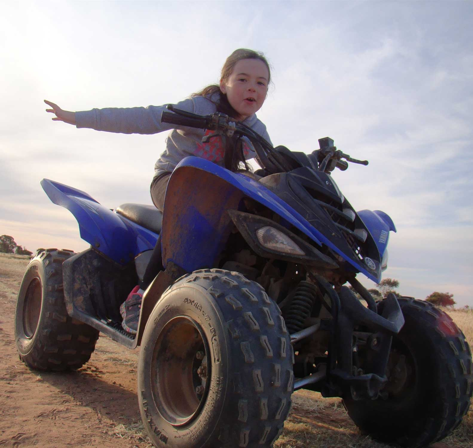 Tookii things to do with kids riding a motorbike one of the outdoor activities for kids
