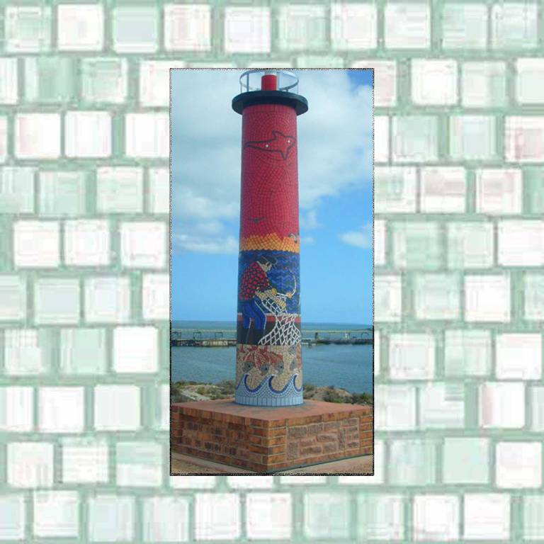 mosaic lighthouse