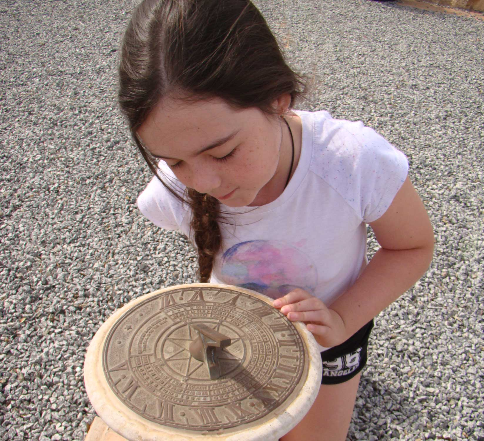 Tookii things to do with kids sundial one of the outdoor activities for kids