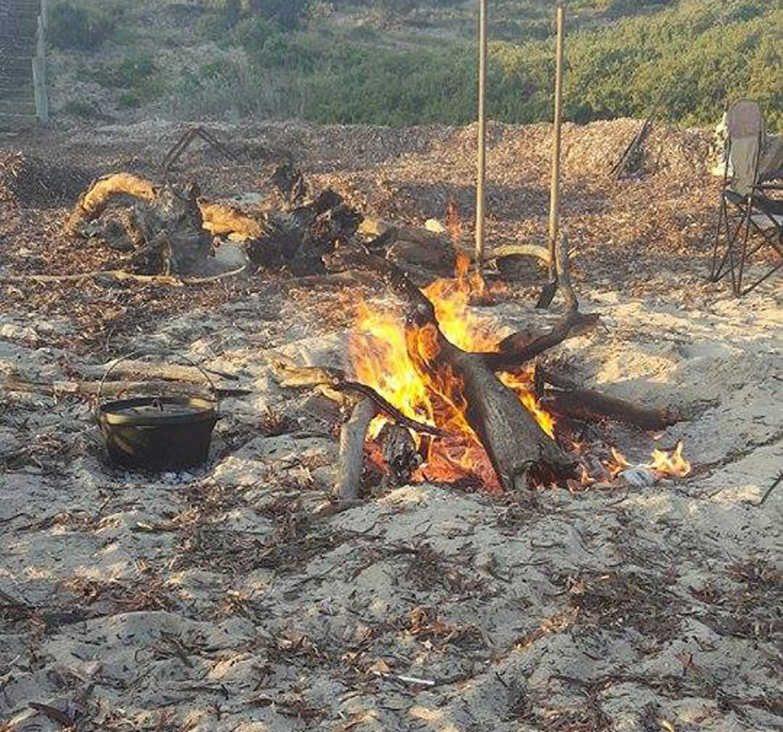 Tookii things to do with kids Campfire one of the outdoor activities for kids