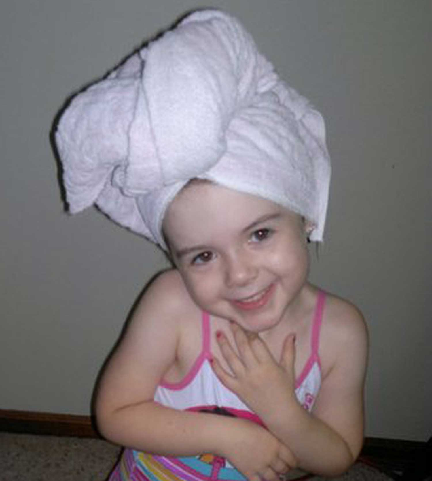 Tookii things to do with kids Hair Towel one of the products for kids