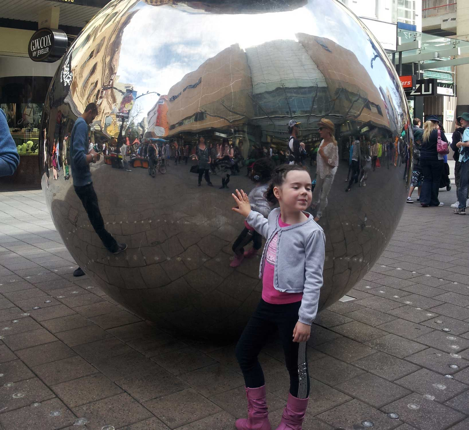 Tookii things to do with kids Rundle mall one of the outdoor activities for kids