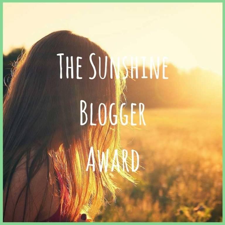 Tookii sunshine blogger award