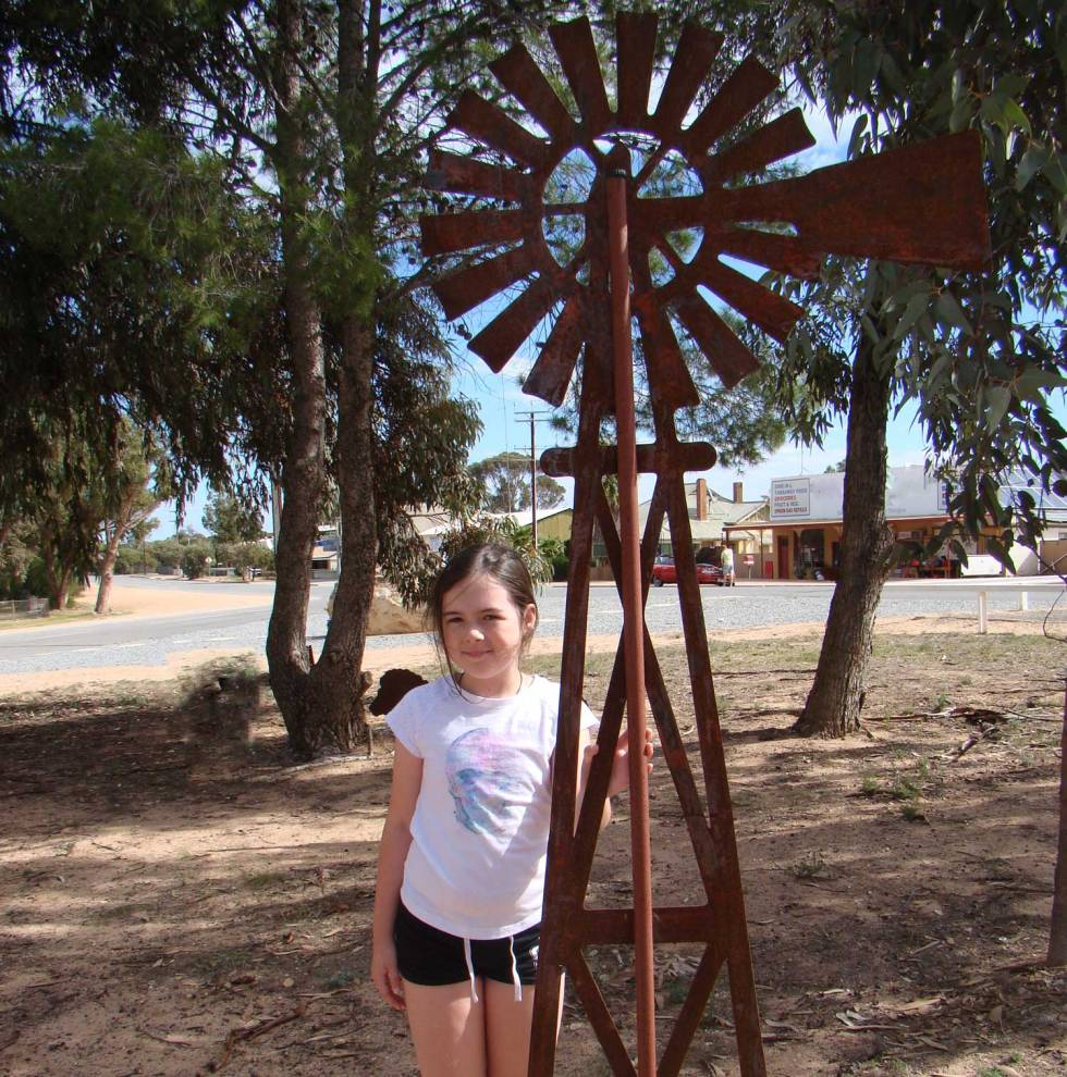 Tookii with windmill one of the outdoor activities for kids