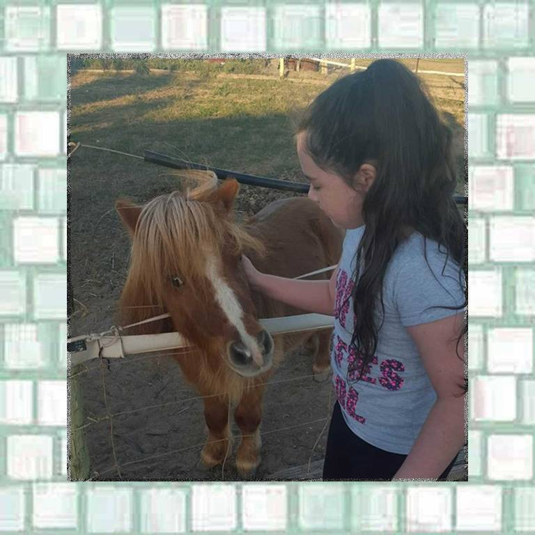 Tookii and small pony