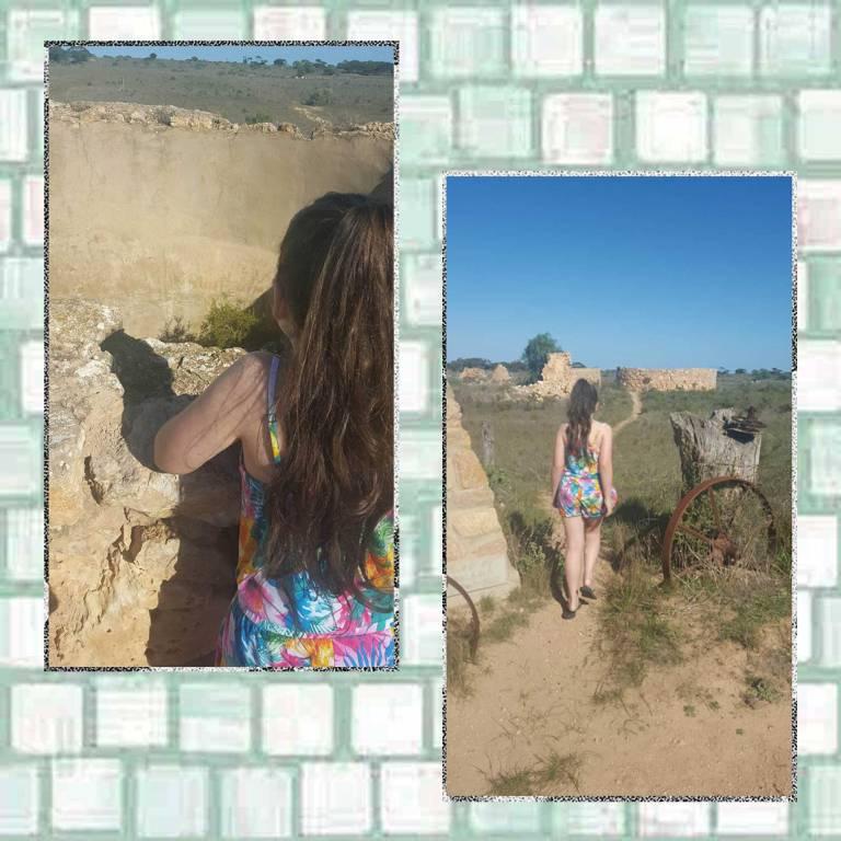 Tookii at ruins