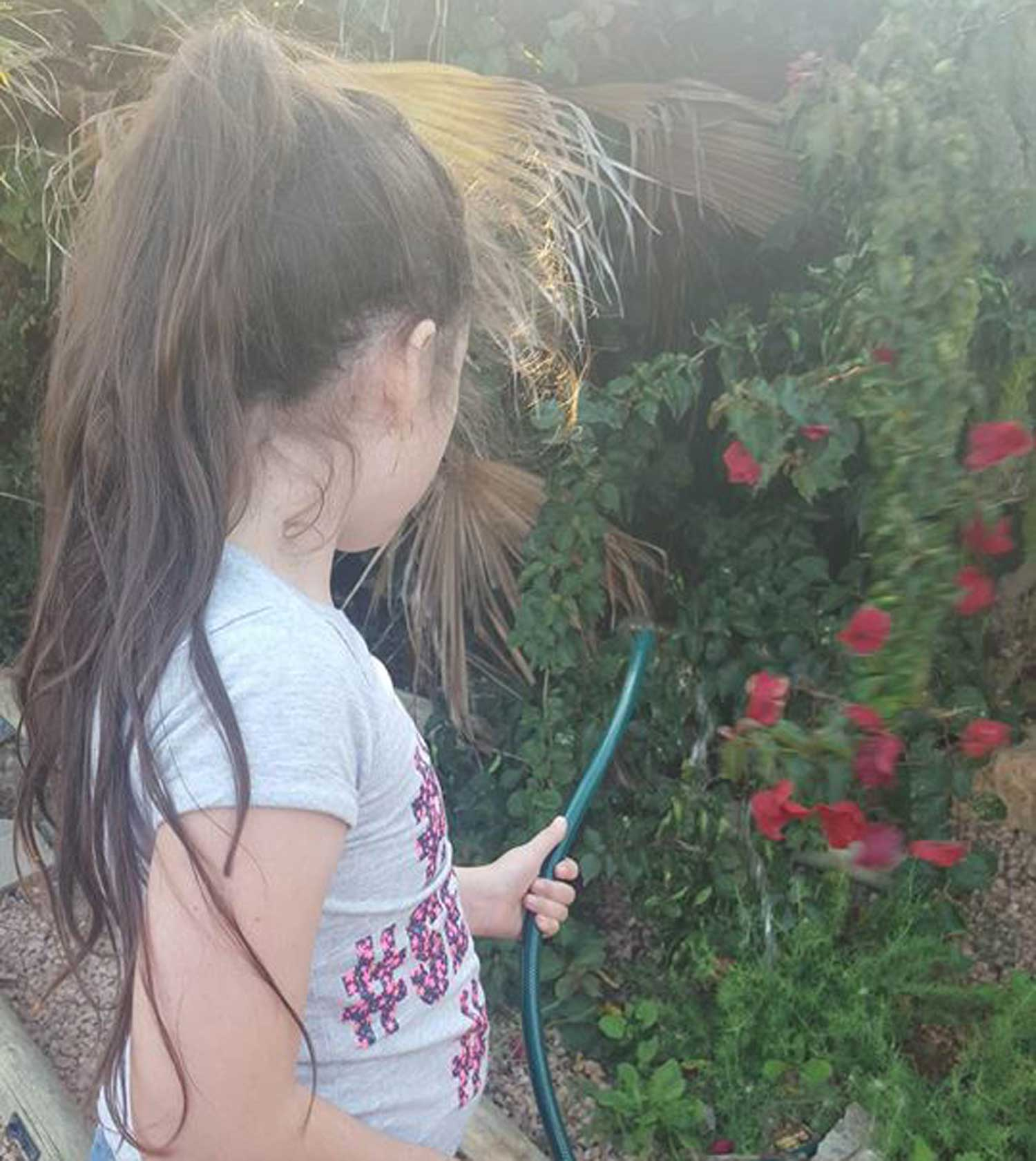 Tookii things to do with kids watering one of the outdoor activities for kids
