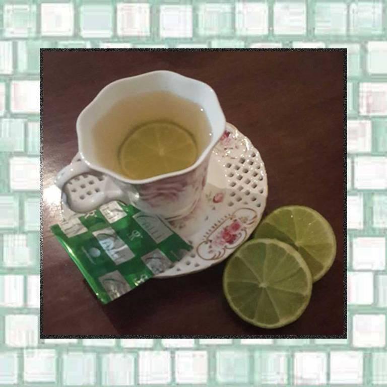 Tookiis green tea and lime