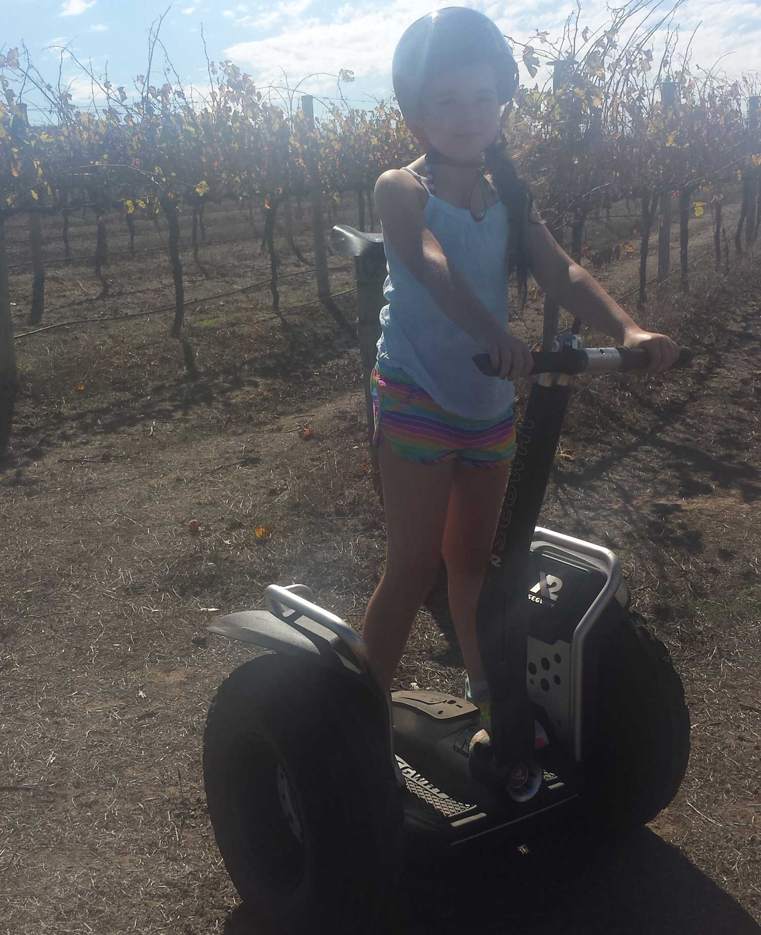 Tookii things to do with kids at Port Lincoln Segways one of the outdoor activities for kids