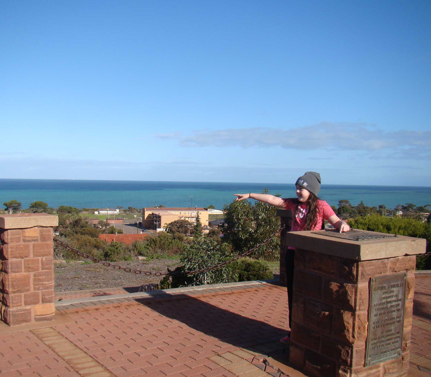 Tookii things to do with kids at the Flinders and Freycinet lookout in Whyalla one of the activities for kids