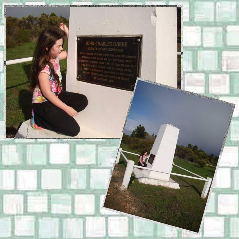 Tookii reading monument